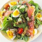 Салат с лососем рецепт